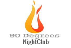 90 Degrees Nightclub Logo
