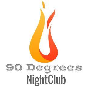 90 Degrees Nightclub Logo