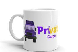 Private Cargo Mug mockup